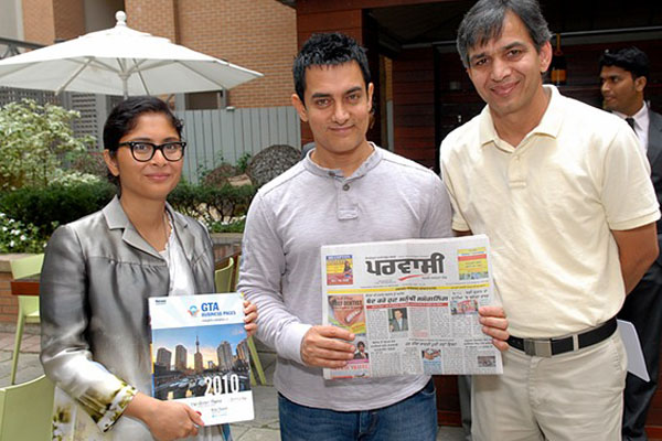 Aamir Khan & his wife
